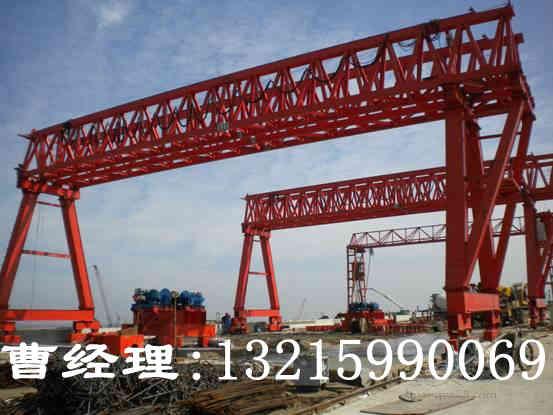 重庆龙门吊销售厂家龙门吊操作原则介绍