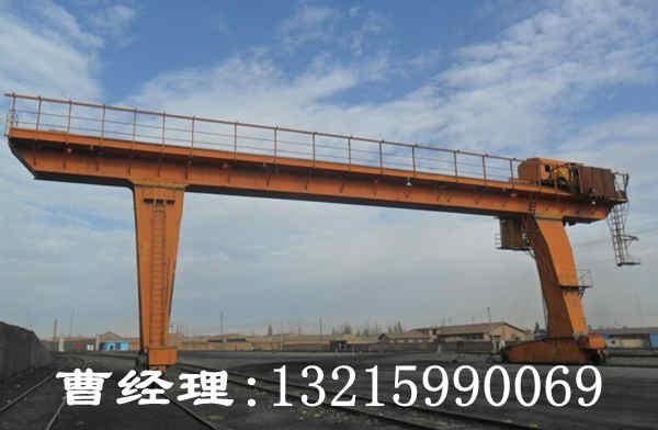 甘肃兰州龙门吊厂家简述龙门吊受力部件性能